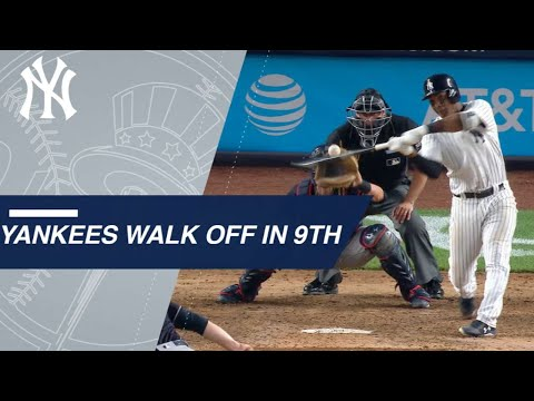 Andujar's walk-off single lifts Yankees in the 9th