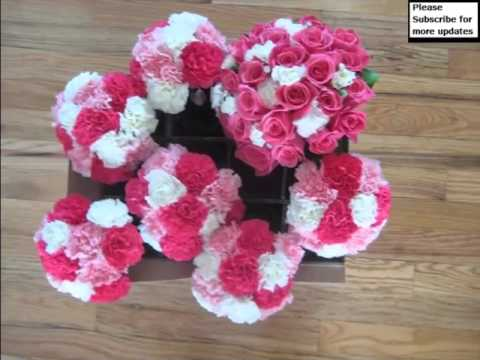 Pink Carnation Flower Bouquet Beautiful Picture Collection Set And Ideas