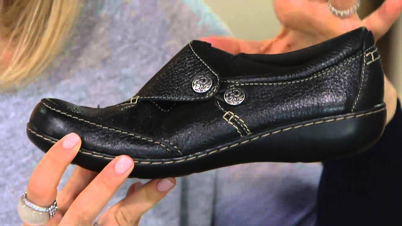 qvc clarks women's shoes