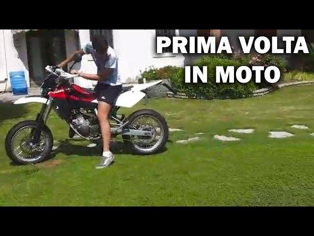 LA MIA PRIMA VOLTA IN MOTO !!