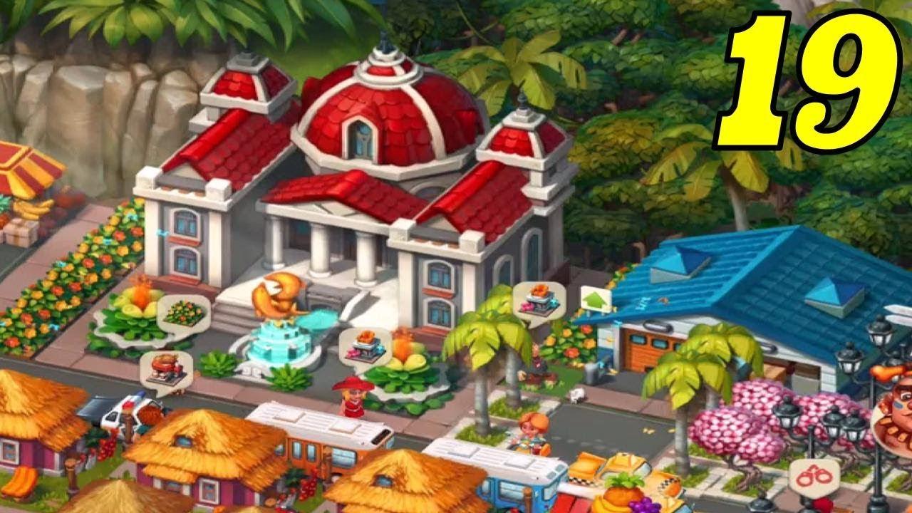 Trade Island - City Hall Level 8 - Gameplay #19 - YouTube