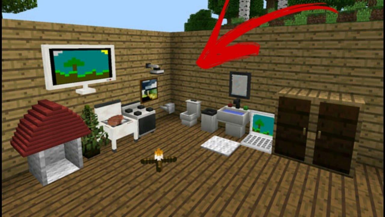 mrcrayfish s furniture mod для майнкрафт пе 0.14.0 #3