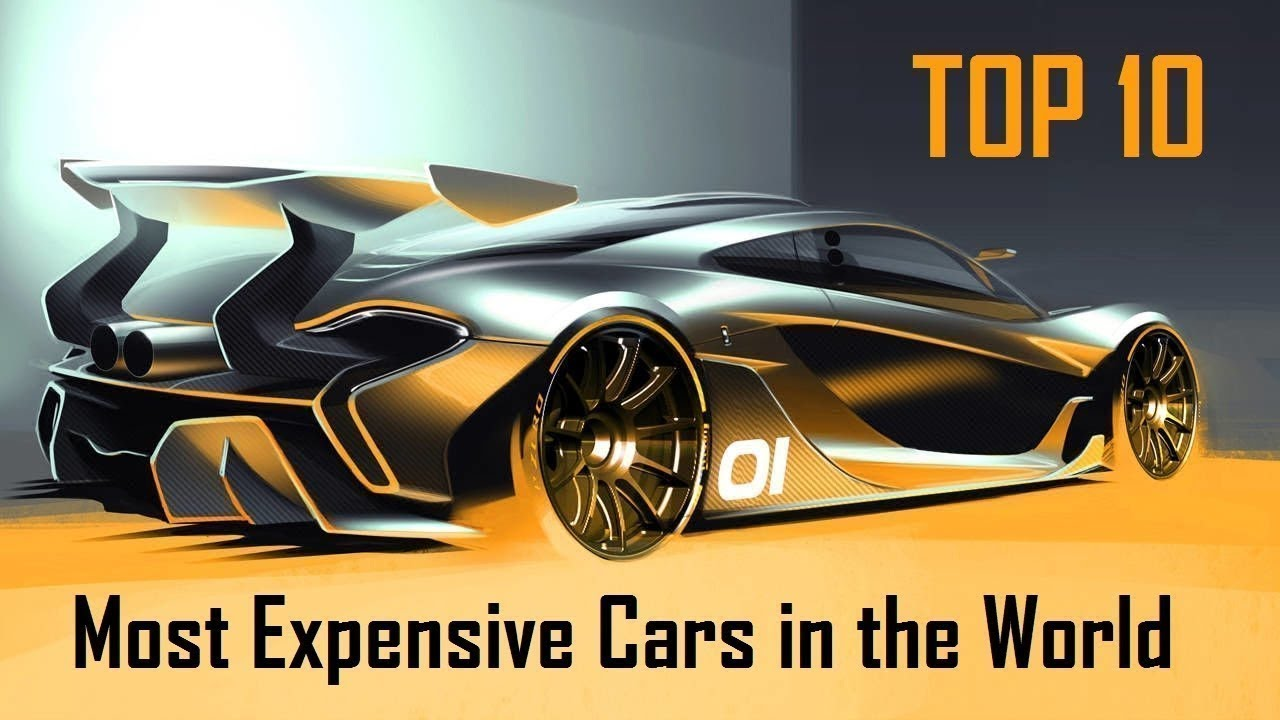 Top 10 Most Expensive Cars In The World 2018 Vehicles Spot Youtube