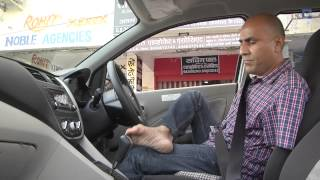 Armless Man Drives With His Feet