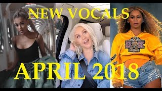 New Best Vocals in April 2018!!! - Famous Singers
