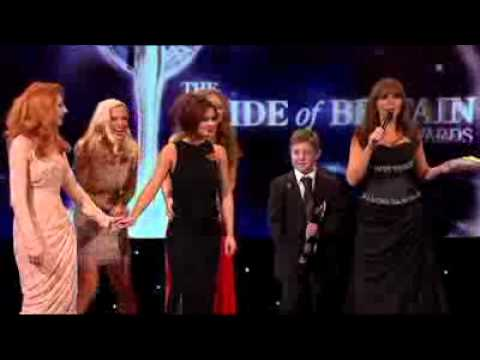 Cheryl Cole Gets A Pie In The Face - Pride Of Britain Awards 2010