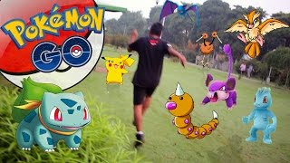 Best Pokemon Park in India  - Pokemon Go || Pikachu in a First Go