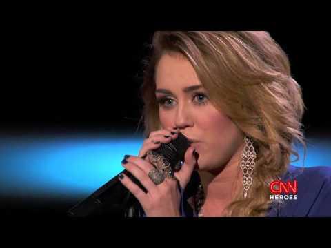 Miley Cyrus - The Climb  [CNN Heroes]