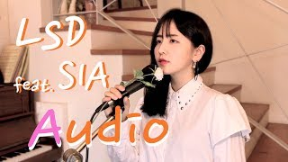 Download Lagu LSD - Audio ft. Sia, Diplo, Labrinth ( cover by HERU LEE ) Mp3