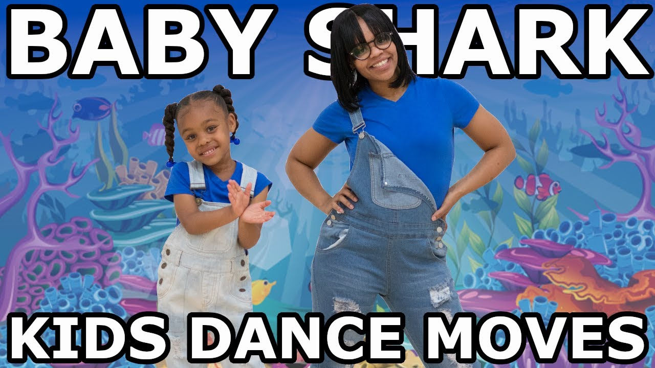 Kids Dance Moves   Baby Shark (R&B Remix)   Desmond kids ...