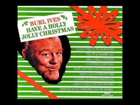 Holly Jolly Christmas - Burl Ives - HD Audio