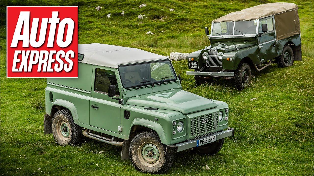 Worksheet. Land Rover Defender Heritage review  its ancestors driven  YouTube