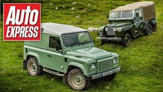Land Rover Defender Heritage review & its ancestors driven
