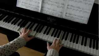 В мире животных/La peregrinación easy piano version