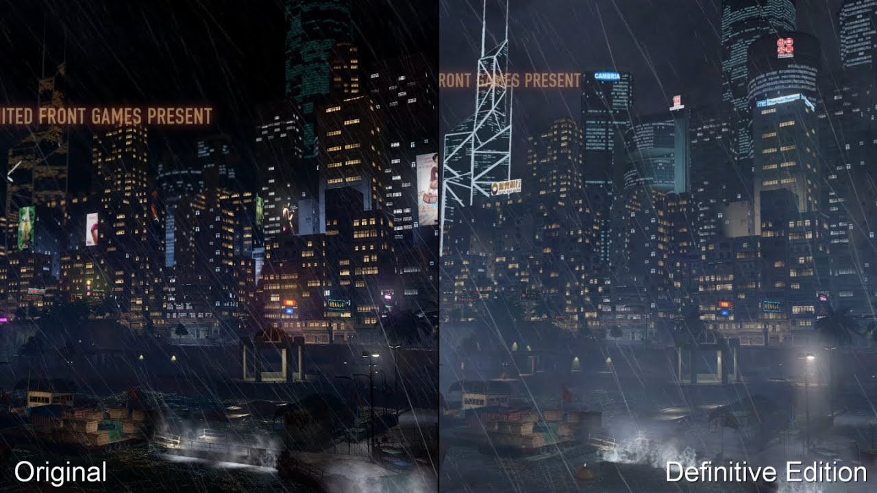 Sleeping Dogs Vs Difinitive