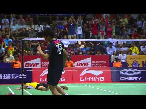 THOMAS AND UBER CUP FINALS 2014 Session 18, Match 5