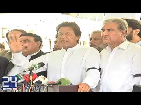 PTI Chairman Imran Khan media talk in Islamabad