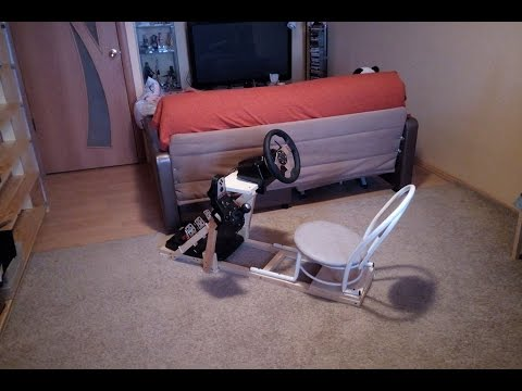 DIY Sim Racing Rig for $20