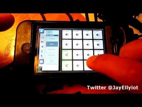 Jay Ellyiot - Intua Beatmaker 2 - Hip Hop & House Beat - iphone 4 - Part 2! (HD)