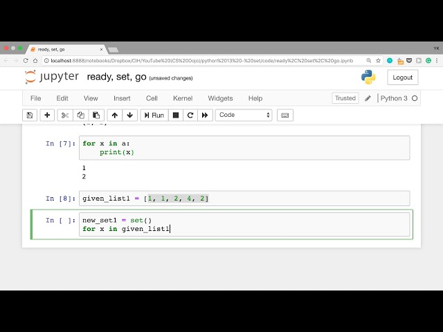 How To Use Sets in Python (Python Tutorial #13)