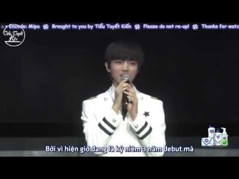 """[TTK][Vietsub-Kara][LIVE 130816] Cùng Fans hát """"YOUNG"""" - TFBOYS Fan Meeting GuangZhou"""