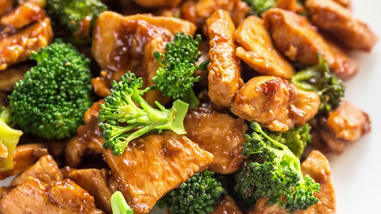 Chinese Chicken And Broccoli - Youtube-3087
