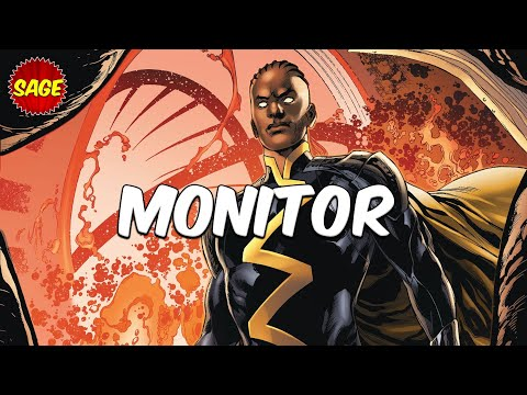 """Who is DC Comics Monitor? Nix Uotan """"Brother"""" of Anti-Monitor & """"Super Judge"""" of DC Multiverse."""