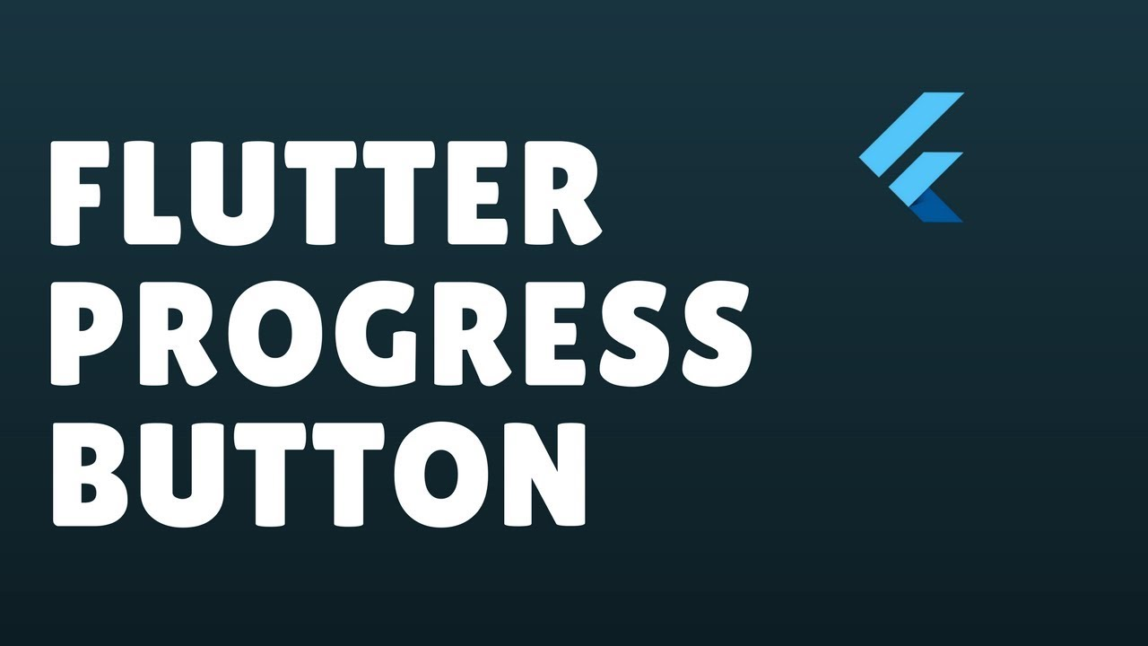 Flutter Progress Button Animation