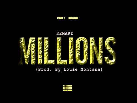 Pusha T - Millions Feat. Rick Ross ( Instrumental)