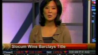 Slocum Wins Barclays Title - Bloomberg