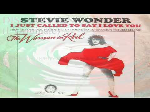 I Just Called To Say I Love You - Stevie Wonder 1984 (Facciate:2)