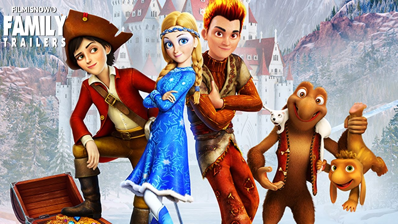 Download SNOW QUEEN 3: Fire and Ice | Official Trailer - Animated Family Movie [HD]