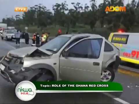 The role of the Ghana red cross - Nkwa Hia on Adom TV (16-7-18)