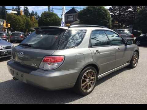 Subaru North Vancouver >> 2006 Subaru Impreza North Vancouver Bc