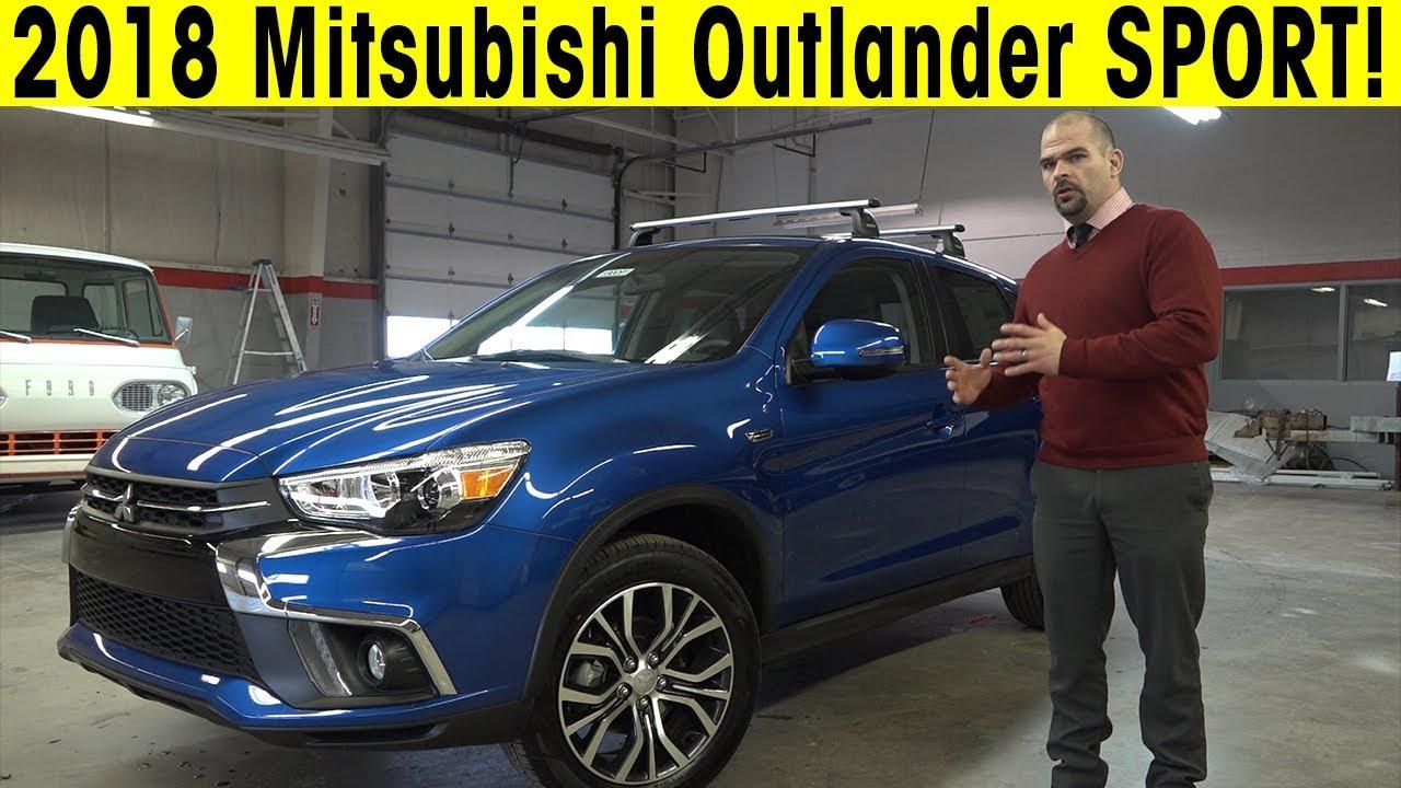 2018 Mitsubishi Outlander Sport Exterior & Interior Walkround