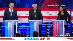 Rivals target Biden as Democrats' rifts emerge on race, age