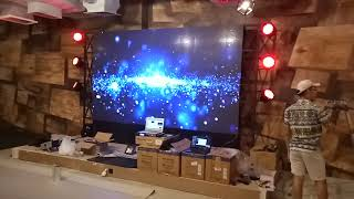 Videotron P4 Indoor, Fix Usage Customs Qiangli / sqm / m2 ( Call )
