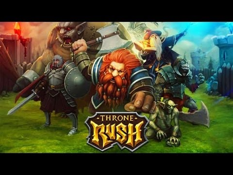 Throne Rush Ios/Android  - Best Epic Strategy Games