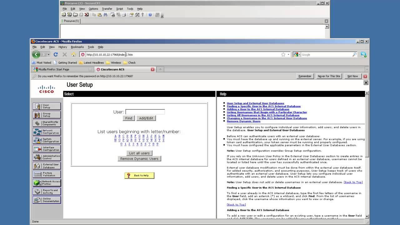 [giaiphapit vn] Configure HP Procurve to Authenticate with a Cisco ACS  Radius Server