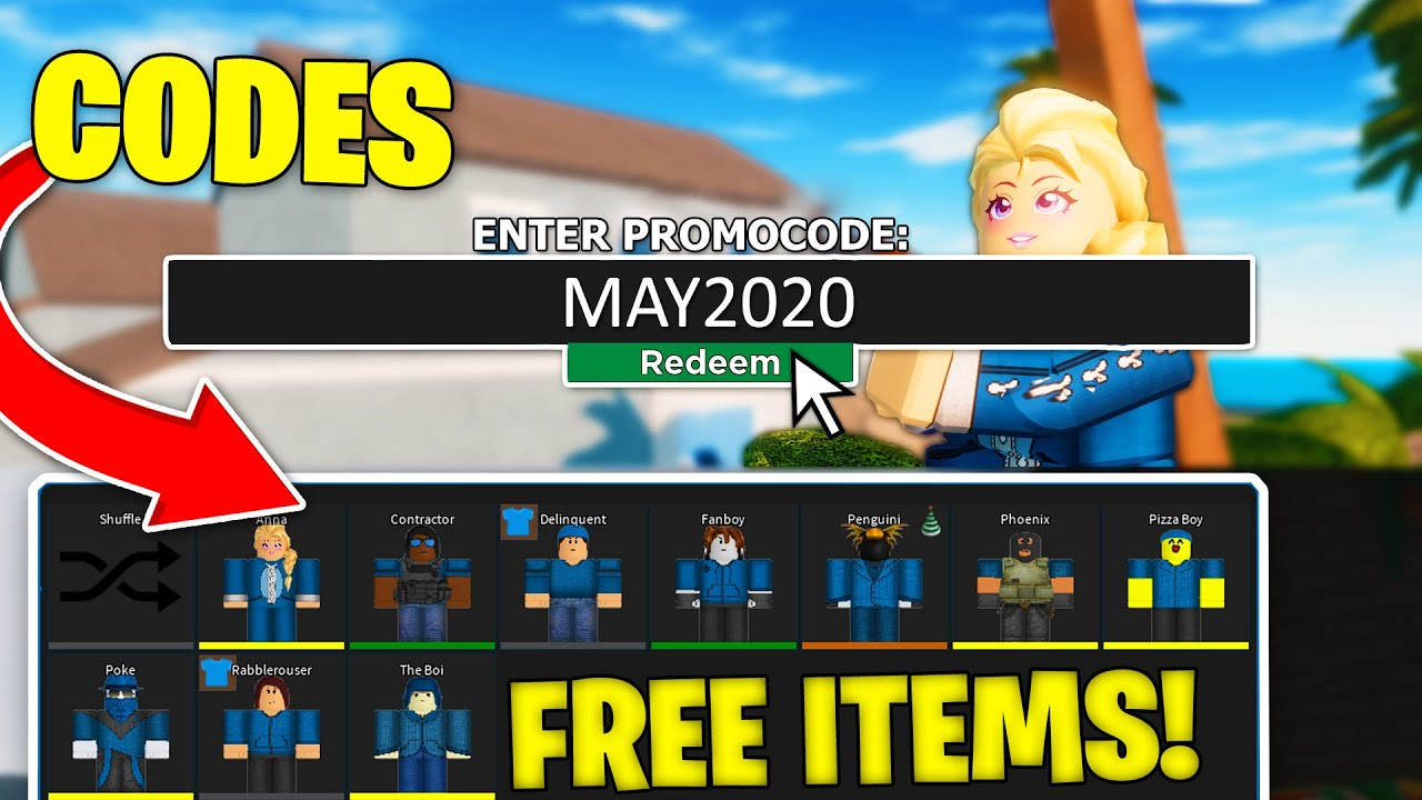 May 2020 All Working Codes In Roblox Arsenal Youtube