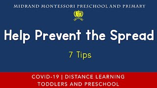 COVID 19 Safety Message - Help Prevent the Spread with these 7 Tips