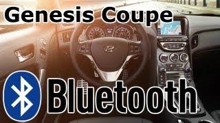 Hyundai Genesis Coupe Bluetooth Phone Setup