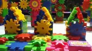купить детский конструктор шестеренки Funny Bricks