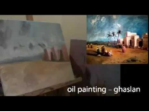oil painting – ghaslan – part3.mp4