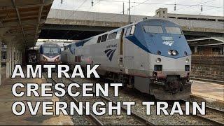 Amtrak Crescent #20 Overnight Train Experience!