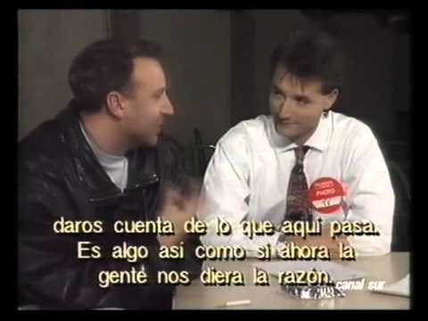 PETER HOOK - 1991 Interview (Spain)