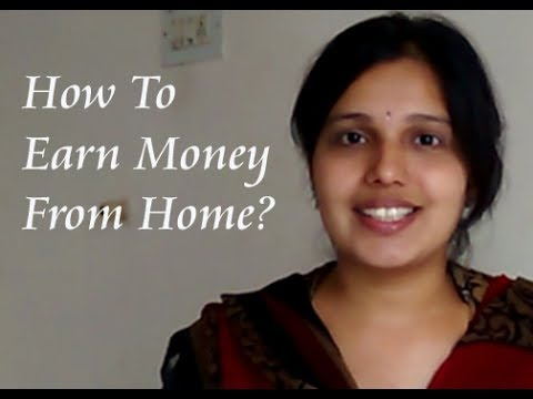 How to earn money from home? | Indian Housewife