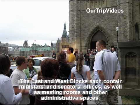 Ottawa(Parliament Hill, Peace Tower, City and River), ON, Canada - Part 1