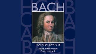 """Cantata No.76 Die Himmel erzählen die Ehre Gottes BWV76 : V Aria - """"Fahr hin, abgöttische..."""