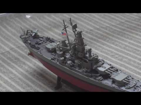 REVIEW,SHIPS OF WAR COLLECTION,PART 5, USS MASSACHUSETTS, 1941 1/1000 SCALE MODEL